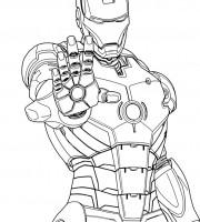 iron man coloring book | 색칠공부 책, 팝아트, 그림 | 200x180