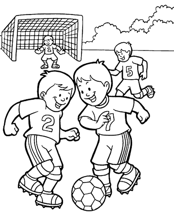 - Coloring Pages Football Coloring Sheets