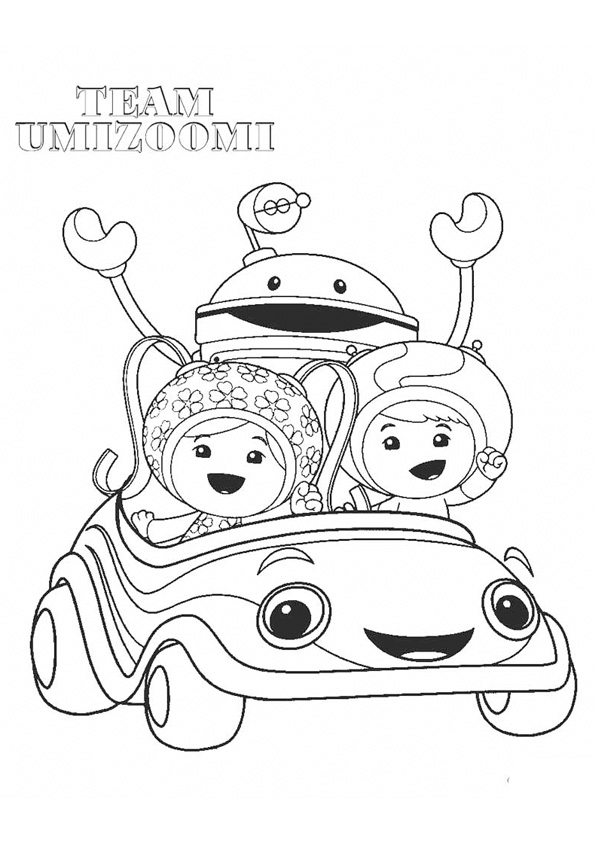 Coloring Pages Team Umizoomi