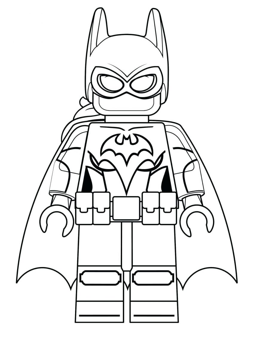 Coloring Pages Batman Coloring Pictures For Young Ones