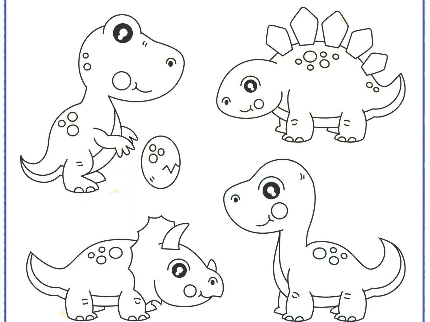 Coloring Pages Printable Dinosaur Coloring Pages Dinosaurg Pictures Preschool For Kids To Color Free