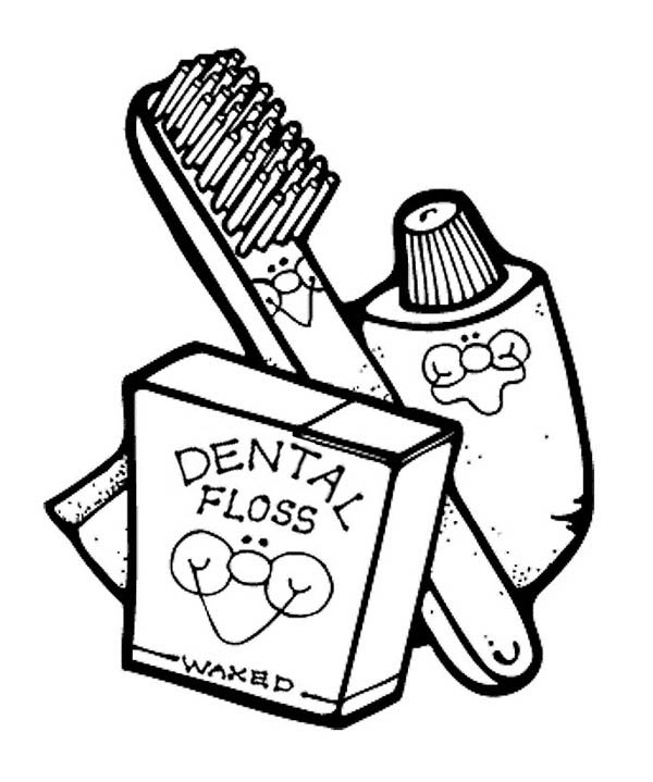 Coloring Pages For Your Dental Health Dentist Coloring Pages