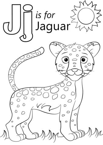 Coloring Pages Free Printable Jaguar Coloring Pages