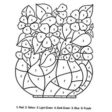 Coloring Pages Color By Number Unicorn Coloring Pages