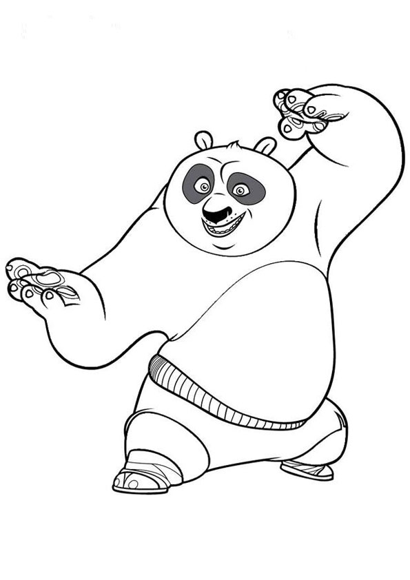 Cute Panda Coloring Pages - Coloring Home   842x595