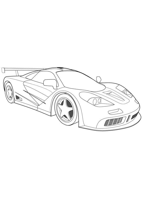 - Coloring Pages Sports Car Coloring Pages For Kids