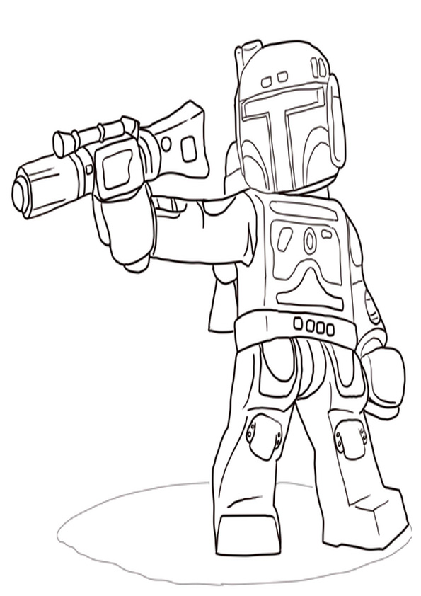 Coloring Pages Star Wars Coloring Pages