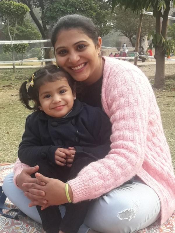 Neha (Mom)&Inaya