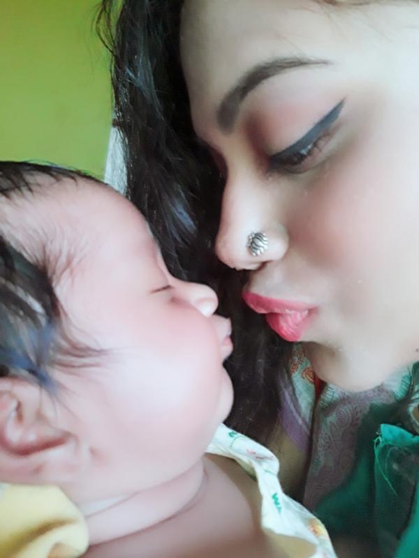Ratri (Mom)&Aaditri