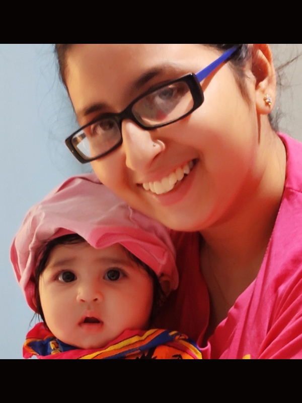 Sudipt (Mom)&Shaanvika