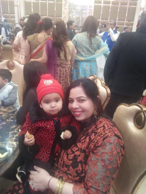 Bhawna (Mom)&Navya