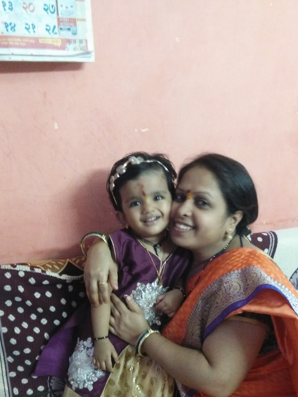 SEEMA (Mom)& JUI
