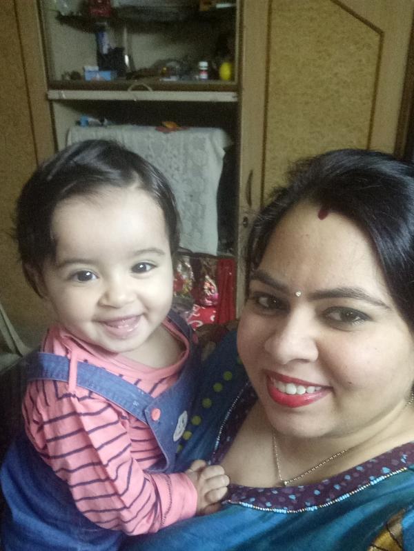 Bhawna (Mom)&Divija