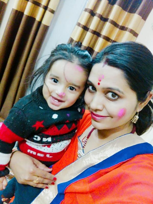 Arunima (Mom)&Pari