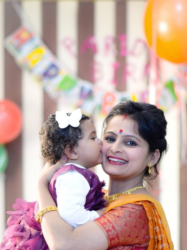 Bindu (Mom)&Paridhi
