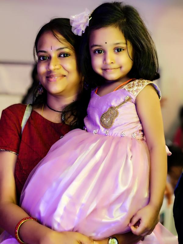 Sirisha (Mom)&Deeksha