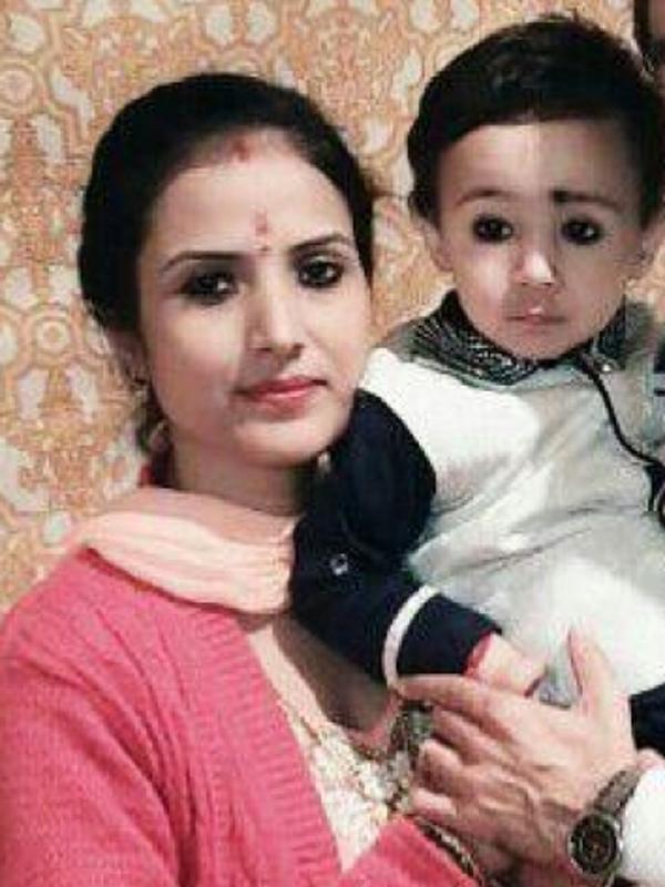 REKHA (Mom)&DEVANSH