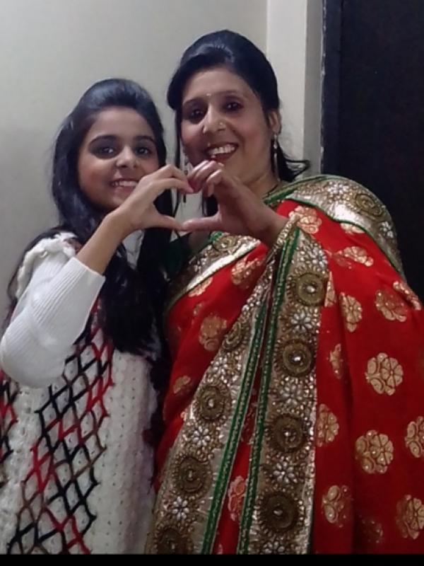 Sona (Mom)&Ujjawal