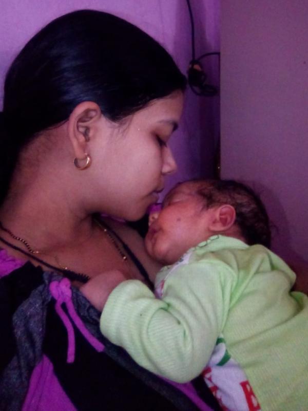 Nikita (Mom)&Aarav