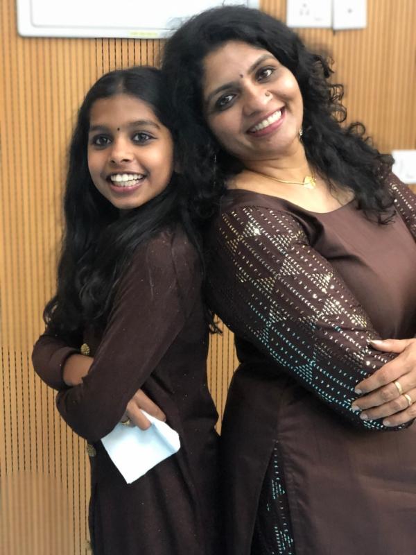 Sai (Mom)&SaiHarshitha