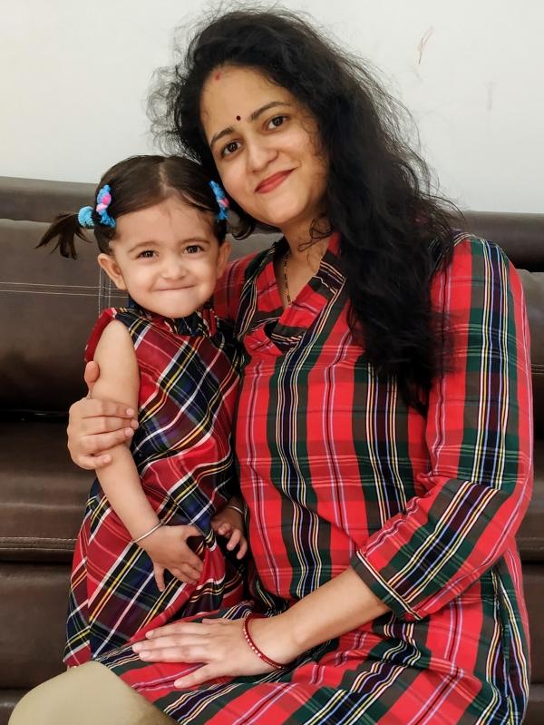 Rupali (Mom)&Prisha