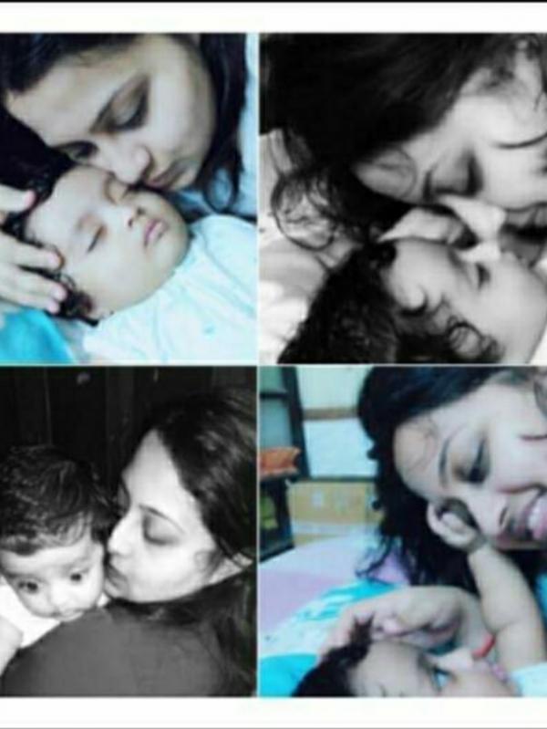 poonam (Mom)&Advik