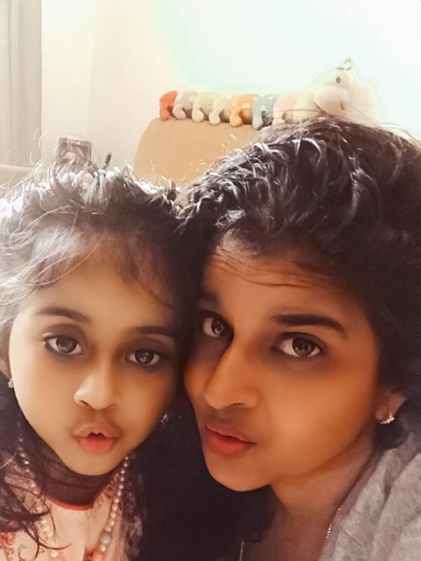 Sunitha (Mom)&Nandini