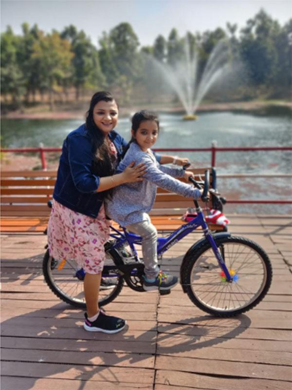 Anju (Mom)&Triti