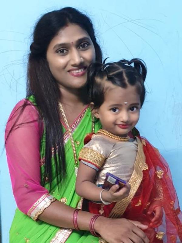 Sangita (Mom)&Ruhi