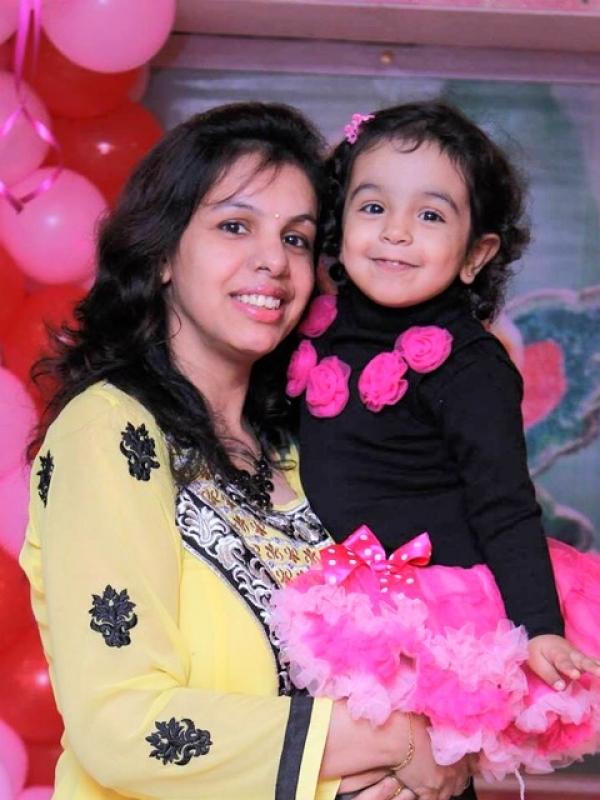 Kamakshi (Mom)&Aarna