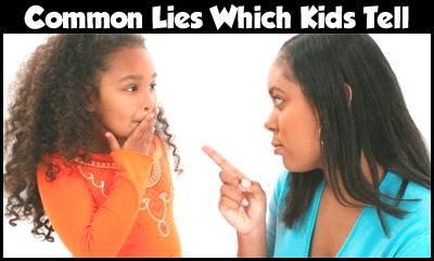 why do children tell lies