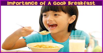 Plan 2: A Good Breakfast