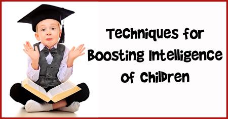 How to Boost Intellectual Development of Children