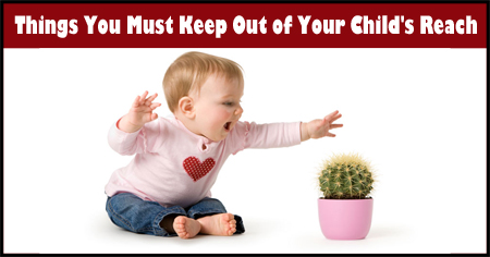 Things You Must Keep out of Your Child's Reach