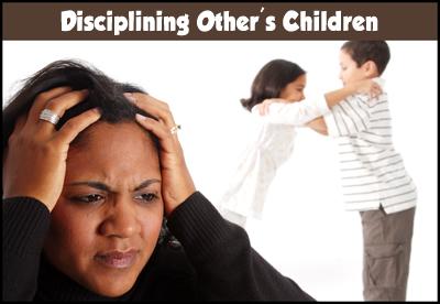 Is It OK to Discipline Other's Children