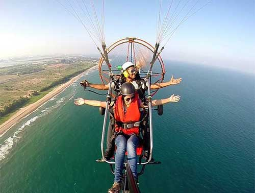 Do Paragliding