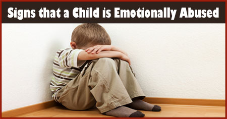 Signs that a Child is Emotionally Abused