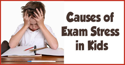 Causes of Exam Stress in Children