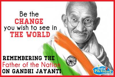 , Hindi Poems on Mahatma Gandhi, Rashtrapita Mahatma Gandhi, Gandhi ...