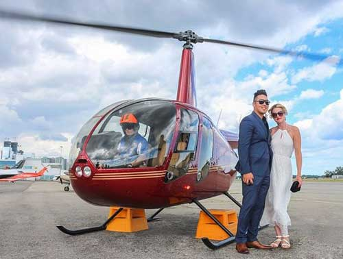 Have a Romantic Helicopter Ride