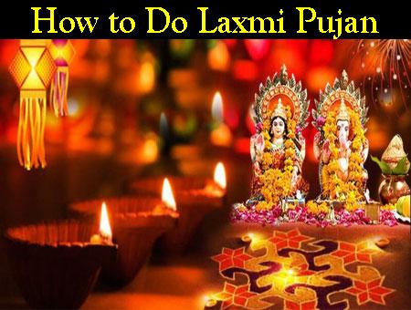 How to Do Laxmi Pujan
