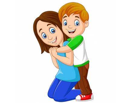 Hug and Show Physical Affection