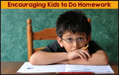 6 Ways to Encourage Your Child to Do Homework