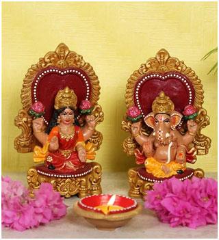 Laxmi-Ganesh Idol