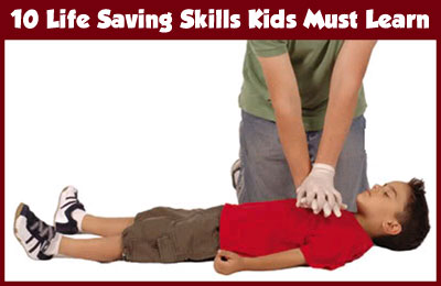 10 Life Saving Skills Which Kids Must Learn