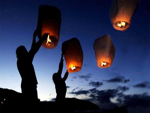 Light Sky-Lanterns