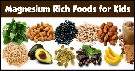 Magnesium Rich Foods f...