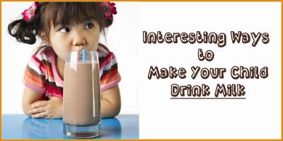 Ways to Encourage Your Kid to Have Milk