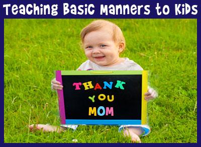 Basic Manners for Children