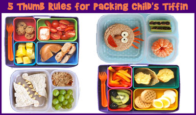 5 Rules for Packing Your Child's Lunch Box